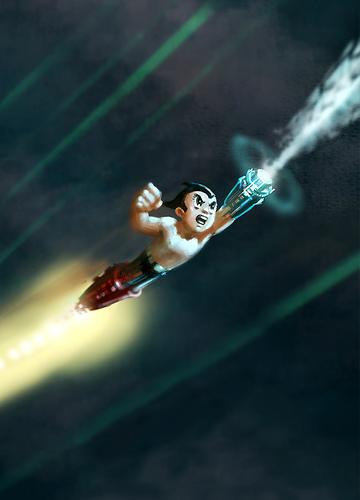 Arte conceptual de Astroboy